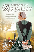 """<div style=""""float:left;width:255px;height:360px;margin:15px auto""""><img src=""""https://jeanbrunstetter.com/wp-content/uploads/2021/06/ReturntotheBigValley.png"""" alt=""""Return to the Big Valley"""" width=""""255"""" height=""""343"""" class=""""alignleft size-full wp-image-3542"""" /></div><br />  <h2 class=""""entry-title"""">The Return to the Big Valley</h2>  <strong>{June 2021}</strong>  <strong>The Brunstetters Return to a Unique Amish Setting for Three New Stories of Love</strong>  Journey back to an area of Pennsylvania that is home to three distinct Amish communities and meet three young women who face heartfelt disappointments in romance.  Wilma's Wishby Wanda E. Brunstetter Wilma Hostetler has been courted by Israel Zook for the last year, and he's recently proposed marriage. But when his sister dies, leaving him to care for five young nephews who openly dislike Wilma, she has second thoughts of starting with a ready-made family and decides to call off the wedding. Can anything be done to restore the relationship, or will Israel seek another wife?  Martha's Miracleby Jean Brunstetter Martha Yoder is different from other Amish women in her love of hunting and the outdoors. Meeting Glen Swarey, who is working with the local fire department, seems to be a good match. But can Martha accept Glen's thoughts of leaving the Amish faith, or will she walk away from a chance at love?  Alma'sAcceptanceby Richelle Brunstetter Alma Wengerd is a young widow who leaves her home in Kentucky to stay with friends in Pennsylvania. Soon she is speeding into a renewed romance with Elias Kurtz and raising the brows of the older church members. When Alma is waylaid by some unexpected news, could putting her happiness with Elias on holdbe her only option?  </td>  <br /><br /> <iframe width=""""560"""" height=""""315"""" src=""""https://www.youtube.com/embed/BnBiZwhuhJs"""" title=""""YouTube video player"""" frameborder=""""0"""" allow=""""accelerometer; autoplay; clipboard-write; encrypted-media; gyroscope; picture-in-picture"""" allowfullscreen></if"""